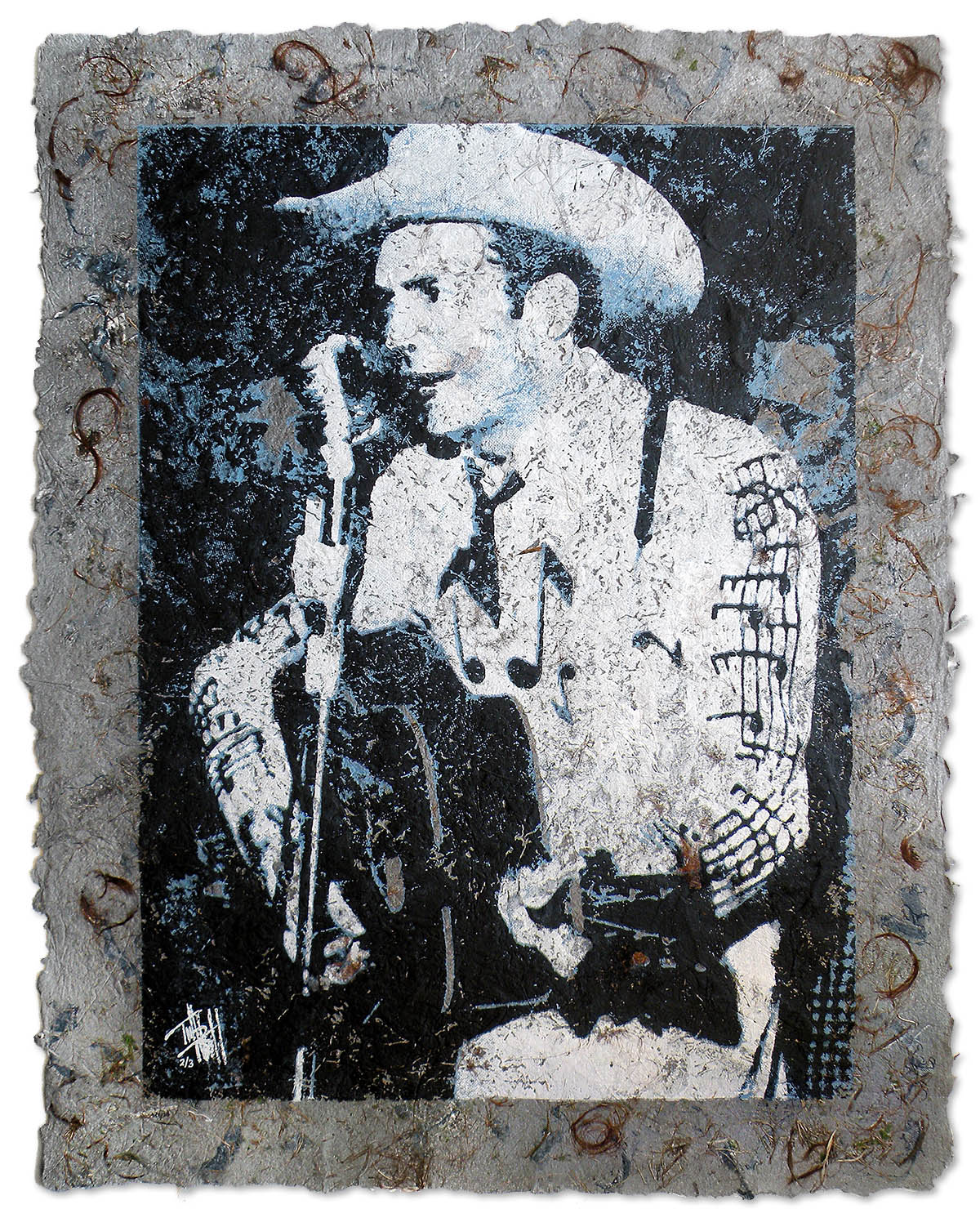 Hank Williams Senior by Terrell Thornhill