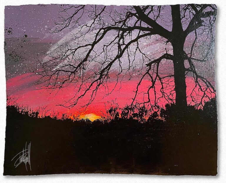 Sunset on Liberty Hill, by Terrell Thornhill